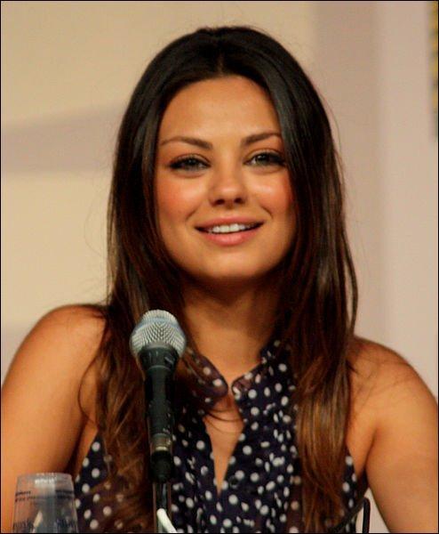 Mila Kunis a joué dans  Ted  :