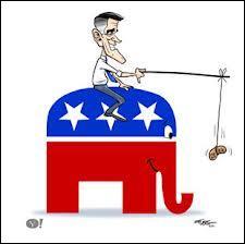 Aux Etats-Unis, l'éléphant personnifie le parti républicain; quel animal symbolise le parti démocrate ?
