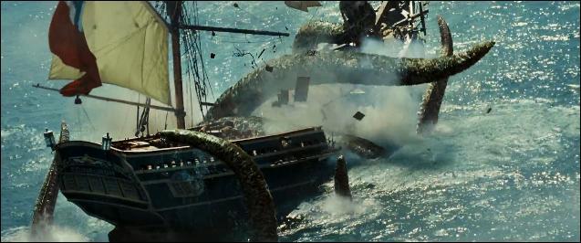 """Dans """"Pirates des Caraïbes : le secret du coffre maudit """", pour quelle raison le capitaine du """"Hollandais Volant"""", Davy Jones, décide-t-il d'attaquer un navire marchand sur lequel s'est réfugié William Turner ?"""