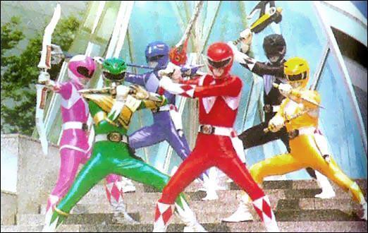 Power Rangers : les groupes