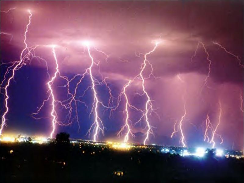 Pourrait-on prendre l'énergie des éclairs ?