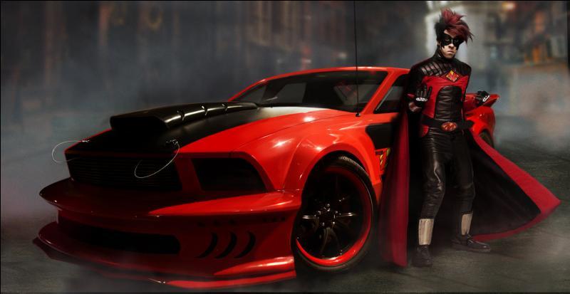 Comment s'appelle la voiture de Red Mist ?
