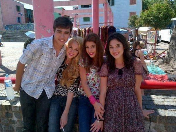 Les acteurs de Violetta