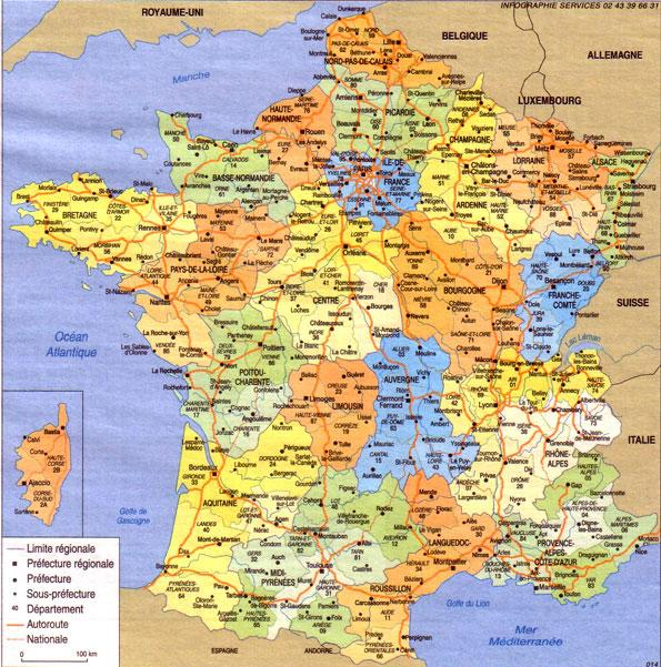 geographie france - Image