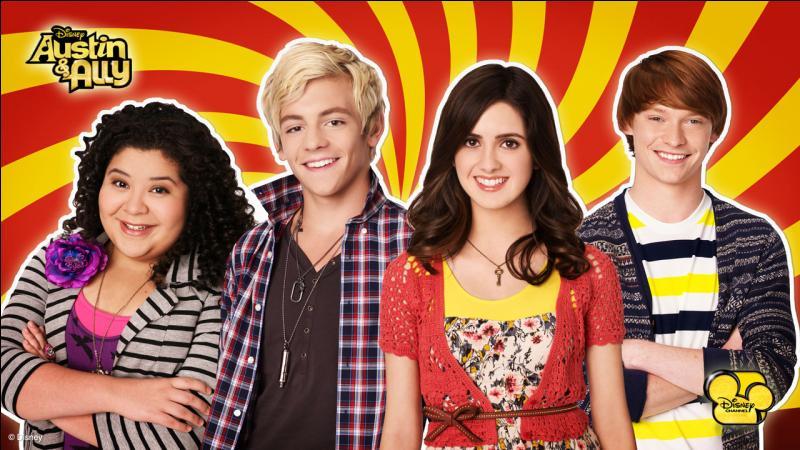 Dans  Austin et Ally , quels sont les acteurs qui joue Ally et Austin ?
