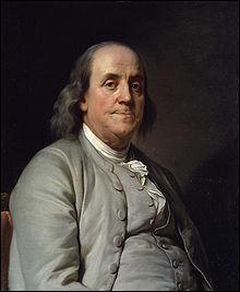 Benjamin Franklin est un homme politique, physicien et publiciste américain. Il a vécu durant le...