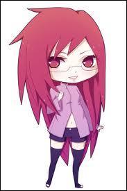 Je suis originaire de Kusa. J'ai été l'assistante d'Orochimaru. Je suis très amoureuse de Sasuke. Qui suis-je ?