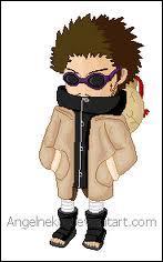 Je suis le père de Shino. Je suis également le quinzième chef du clan Aburame. Je manipule moi aussi les insectes. Je m'appelle :