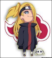 Je suis un nukenin d'Iwa. Je possède le Bakuton. Mon premier coéquipier à l'Akatsuki fut Sasori. Je m'appelle :