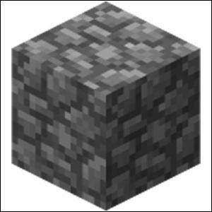 Quel est ce bloc que l'on trouve abondamment dans  Minecraft  ?