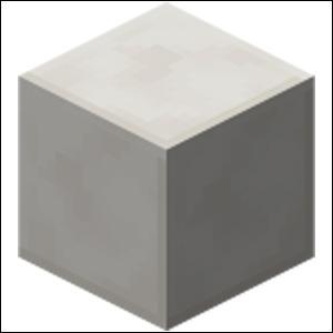 Quel nom porte ce bloc que l'on obtient grâce au quartz ?