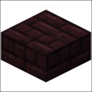 Quel est le nom de ce bloc (il se trouve dans le Nether) ?