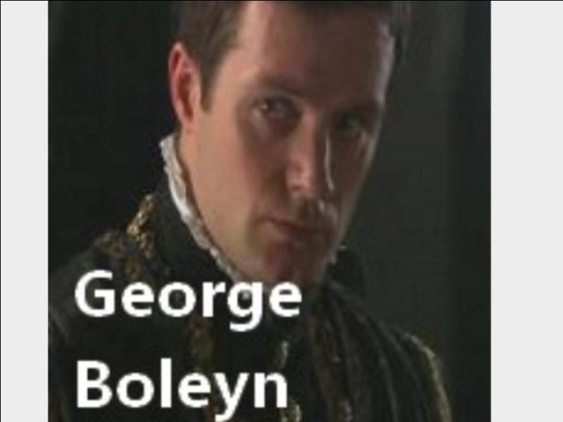 Avec qui Georges Boleyn trompe-t-il sa femme ?