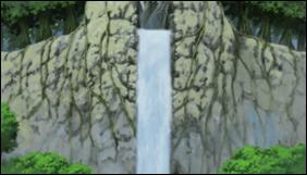 Comment s'appelle l'endroit où Naruto commença son entrainement pour dompter le Chakra de Kyûbi ?