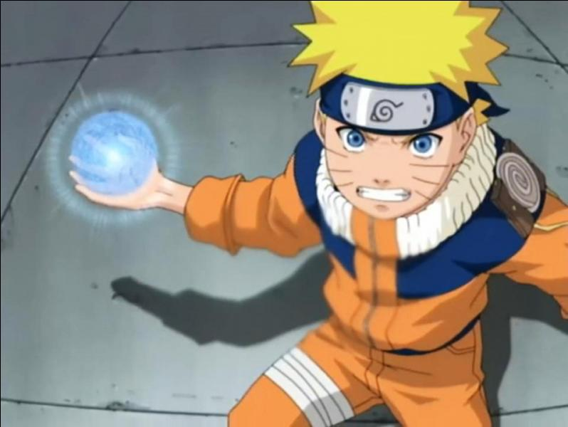 Contre qui Naruto a-t-il utilisé l'Orbe Tourbillonant pour la première fois ?