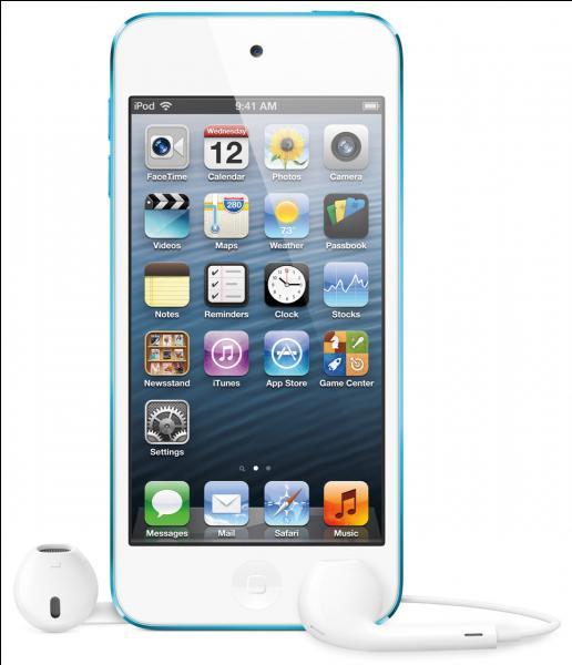 En combien de couleurs est disponible le iPod touch 5 ?
