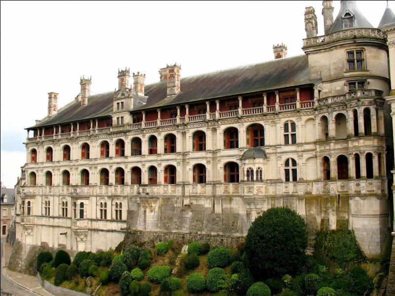 Ce célèbre château de la Loire où Henri III fit assassiner le duc de Guise en 1588 est réputé pour son escalier à vis. Quel est cette ce superbe monument ?
