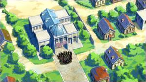 Où la ville d'Acalypha se trouve-t-elle par rapport à Magnolia ?