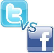 Facebook ou Twitter