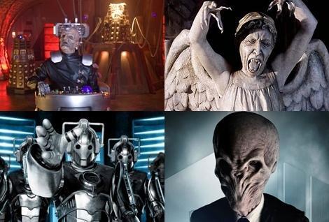 Les extra-terrestres de Doctor Who
