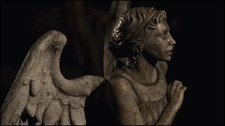 Dans quel épisode voit-on les anges bouger ?