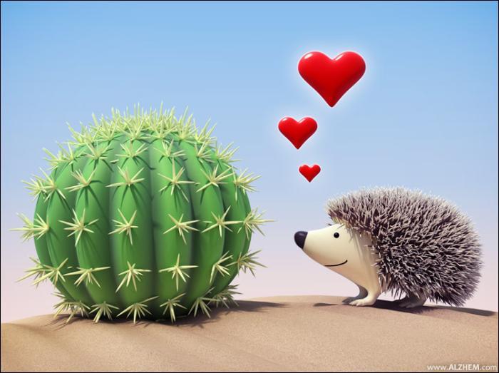 Que dit un bébé hérisson lorsqu'il se frotte à un cactus ?