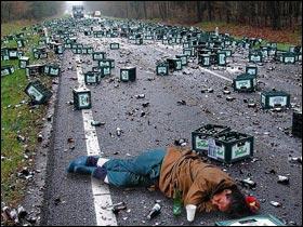 Cependant l'alcool que nous retrouvons dans la bière comme le vin a des effets très déplorables. D'ailleurs à ce sujet, en 2010 l'alcool a été la première cause de mortalité sur la route devant la vitesse. Complétez les pointillés : En 2010, environ ... personnes ont trouvé la mort.