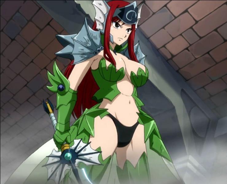 Quelle est l'armure la plus puissante d'Erza ?