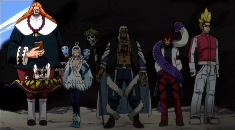 Contre qui l'équipe de  Fairy Tail  a-t-elle envoyé les meilleurs de la guilde ?