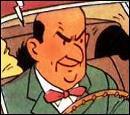 Cet homme apparaît dans  L'affaire Tournesol  mais quel est son nom ?