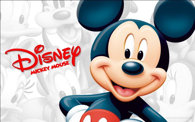 Tout le monde connaît Mickey Mouse, depuis sa création, cette célèbre souris a toujours porté ce nom !