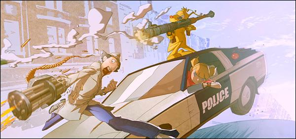 L'inspecteur Gadget est une série télévisée d'animation américaine, canadienne, japonaise ... et française !