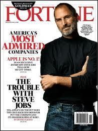 Selon Fortune, Apple fut l'entreprise la plus admirée au monde pendant combien d'années ?