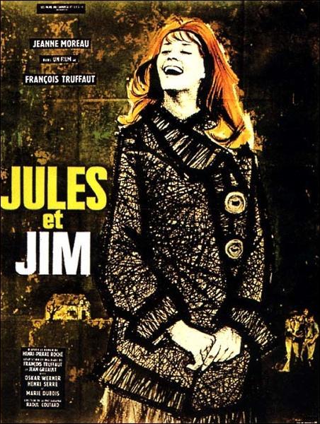 Jules et Jim  : sorti en 1962. Qui a réalisé ce film mettant en scène deux amis inséparables et amoureux de la même femme avant la Première Guerre Mondiale ?