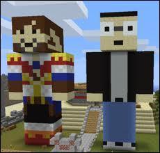 Comment s'appelle le duo de youtubers minecraftiens le plus connu ? (voir l'image)