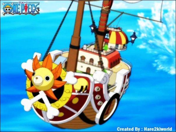 Quel nom Luffy voulait-il donner au Thousand Sunny avant son nom définitif ?
