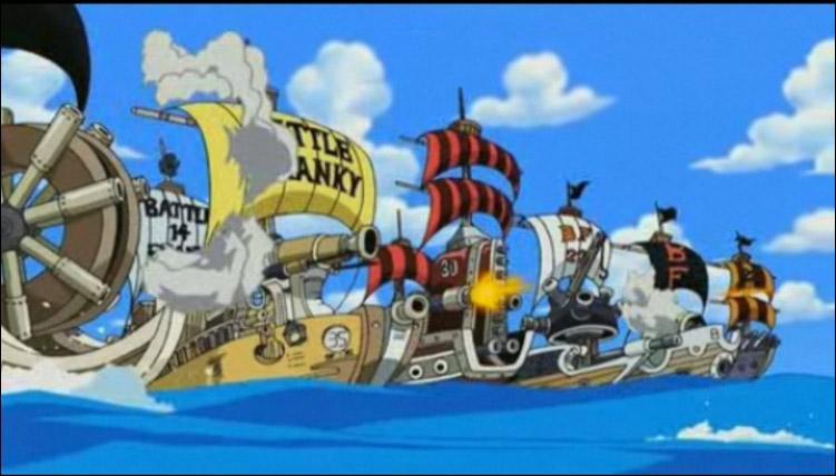Combien de Battle Franky furent créés jusqu'à l'île des Hommes-poissons ?
