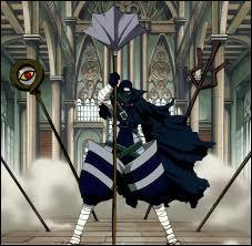 Quel est le nom du personnage toujours masqué à Fairy Tail ?