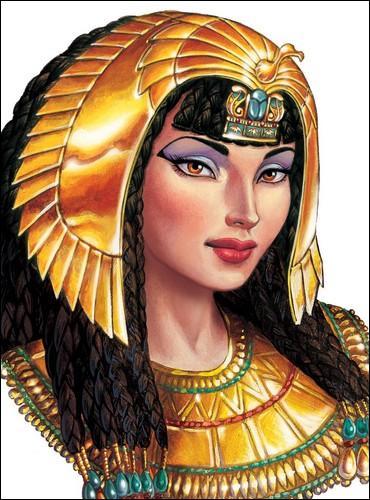 Par conséquent, et contrairement aux idées reçues, Cléopâtre, ainsi que la noblesse de la ville, sont d'origine :