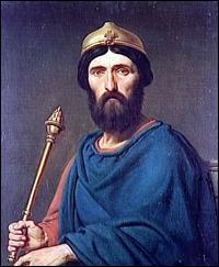 Louis IV de France a reçu un surnom qui rappelle qu'il a été élevé dans un pays étranger. Quel est ce surnom ?