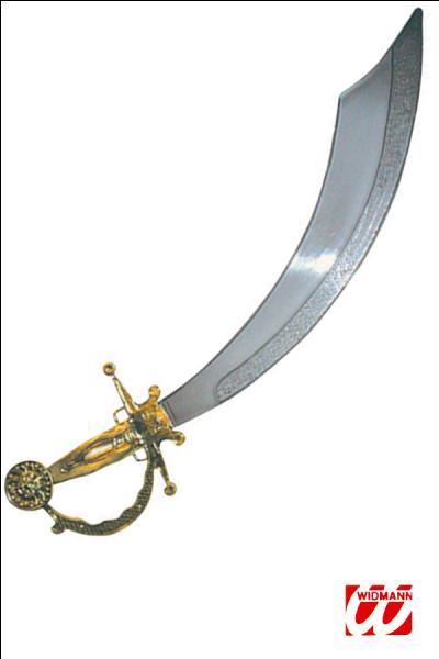 Comment s'appelle cette épée (arabe il me semble) ?
