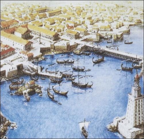Lequel des deux remporte la bataille d'Alexandrie ?