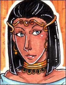 Qu'advient-il d'Arsinoé, la jeune soeur ennemie de Cléopâtre, qui avait soutenu Ptolémée XIII pendant la bataille ?