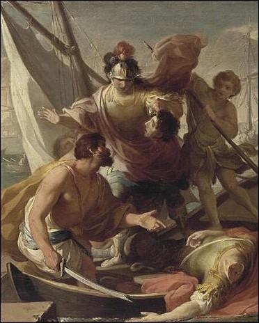 Comment l'accueillent le jeune Ptolémée, roi d'Égypte, et ses conseillers ?