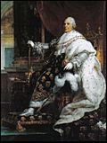Frère cadet de Louis XVI, je reviens aux affaires grâce au congrès de Vienne en 1815, qui fait suite à la défaite de Napoléon Ier. Je suis...