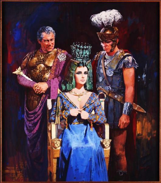 Auprès des Romains Cléopâtre a une réputation de femme lubrique et débauchée qui influence Marc-Antoine. Outre des rumeurs sur la vie décadente et les banquets à outrance, qu'est-ce-qui rend les Romains hostiles envers Cléopâtre ?