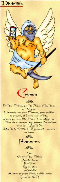 Qui était l'espion(ne) de Cronos ?