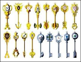 Pendant les grands jeux magiques, combien Lucy a-t-elle de clefs ?