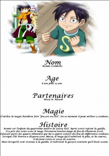 Roméo a 6 ans puis, quel âge a-t-il ?