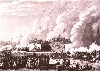 Comment s'appelle la loi décrétée par Bailly, et qui entraîne la fusillade du Champ-de-Mars le 17 juillet 1791 ?